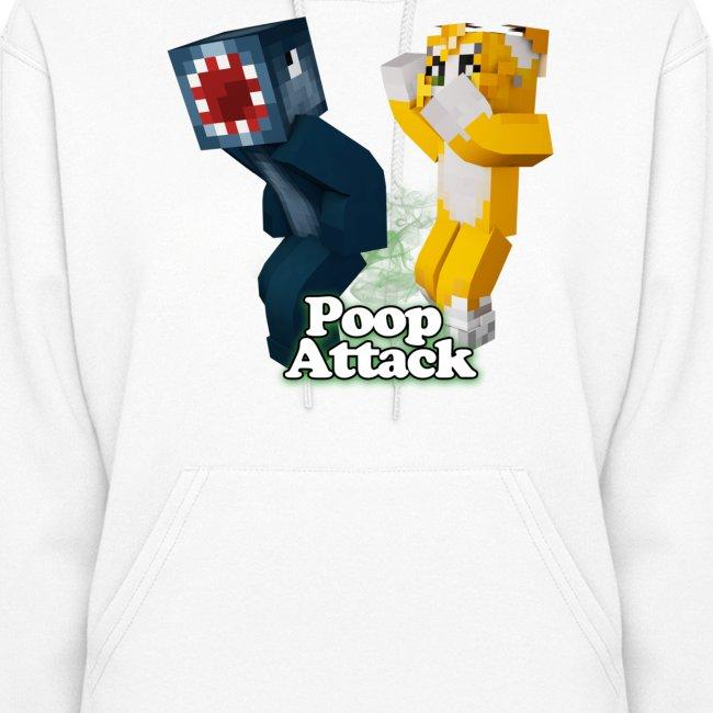 Poop Attack - Women's Hoodie