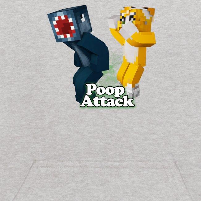 Poop Attack - Kid's Hoodie