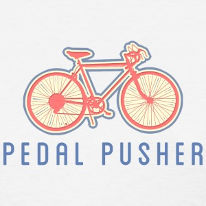 Bicycle Pedal Pusher - Women's T-Shirt