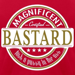 magnificent bastard - Men's T-Shirt by American Apparel