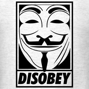 Disobey T-Shirts - Men's T-Shirt
