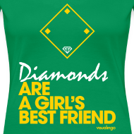 Design ~ Diamonds II - Women's Tee