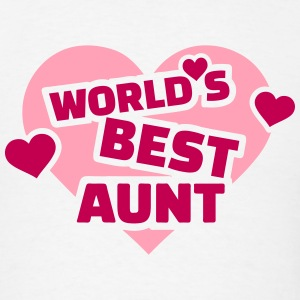 World's best Aunt T-Shirts - Men's T-Shirt