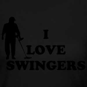 I love swingers Long Sleeve Shirts - Women's Long Sleeve Jersey T-Shirt
