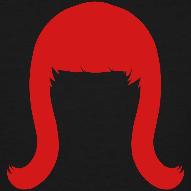Miss Coco Peru Wig Logo - Men's Tall T-Shirt