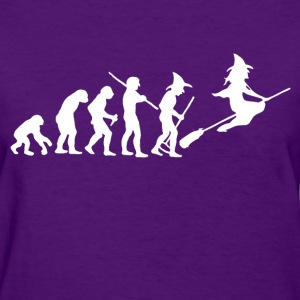 evolution_of_witch Women's T-Shirts - Women's T-Shirt