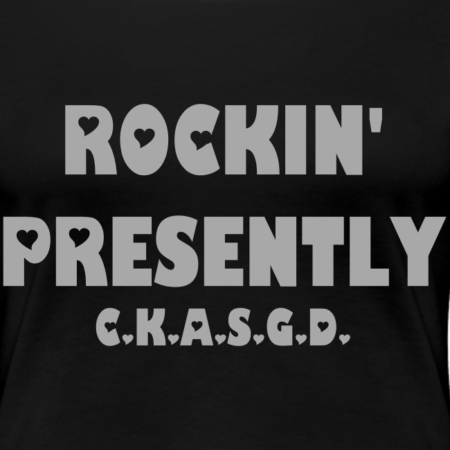 Can't Keep A Sober Girl Down Rockin' Presently Silver Glitter-T