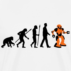 evolution_roboter_032014_a_2c T-Shirts - Men's Premium T-Shirt