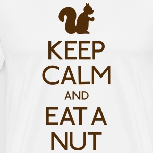 keep calm squirrel  T-Shirts - Men's Premium T-Shirt