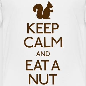 keep calm squirrel  Kids' Shirts - Kids' Premium T-Shirt