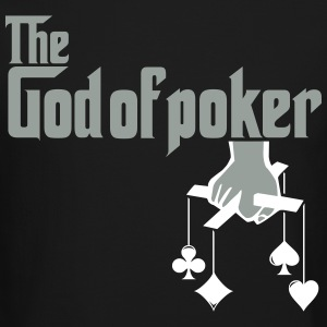 THE GOD OF POKER Long Sleeve Shirts - Crewneck Sweatshirt