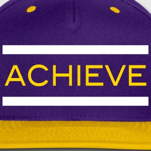 Achieve Inspiration Workout WOD Weight Lifting Run Caps - Snap-back Baseball Cap
