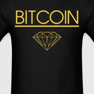 Bitcoin Diamond Geek Nerd - Men's T-Shirt