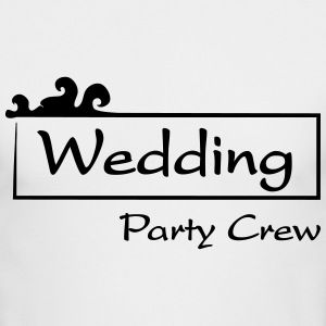 Wedding Party Crew Long Sleeve Shirts - Men's Long Sleeve T-Shirt by Next Level