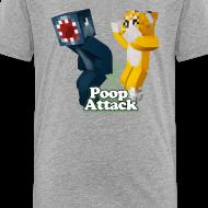 Design ~ Poop Attack - Kid's Premium