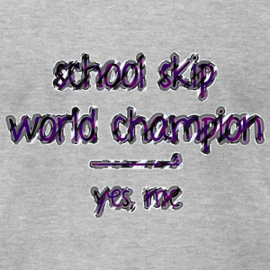 school skip T-Shirts - Men's T-Shirt by American Apparel