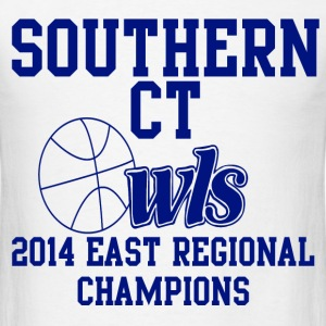 Southern CT Owls Hoops T-Shirts - Men's T-Shirt