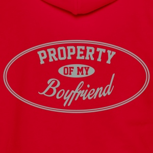 PROPERTY OF MY GIRLFRIEND Zip Hoodies & Jackets - Unisex Fleece Zip Hoodie by American Apparel