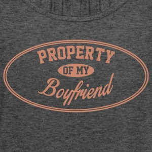 PROPERTY OF MY GIRLFRIEND Tanks - Women's Flowy Tank Top by Bella