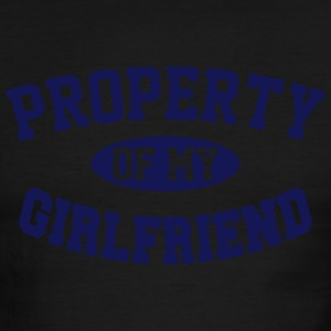 PROPERTY OF MY GIRLFRIEND T-Shirts - Men's Ringer T-Shirt