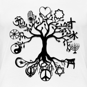 Tree of Life Peace - Women's Premium T-Shirt