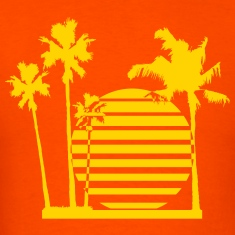 Palm beach - bananaharvest T-Shirts