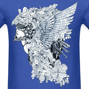 Angel fighter - bananaharvest T-Shirts - Men's T-Shirt
