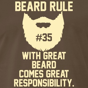 Beard Rules T-Shirts - Men's Premium T-Shirt
