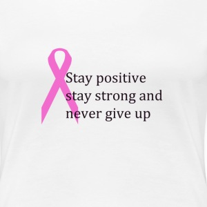 Fight cancer Women's T-Shirts - Women's Premium T-Shirt