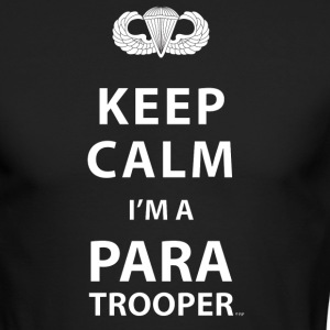 KEEP CALM I'M A PARATROOPER - Men's Long Sleeve T-Shirt by Next Level