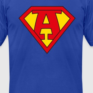 super a T-Shirts - Men's T-Shirt by American Apparel