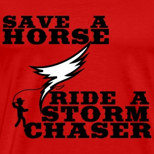 Ride a Stormchaser T-Shirts - Men's Premium T-Shirt