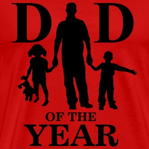 Dad of the year T-shirts - T-shirt premium pour hommes