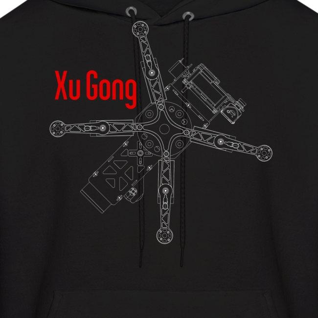 XuGong Skeleton Hoodie
