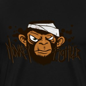 Monkey Fighter  - Men's Premium T-Shirt