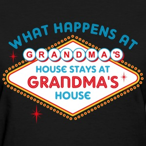 Las Vegas Stays At Grandma's T-Shirt - Women's T-Shirt