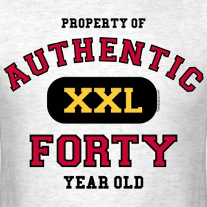 Authentic Forty T-Shirt - Men's T-Shirt