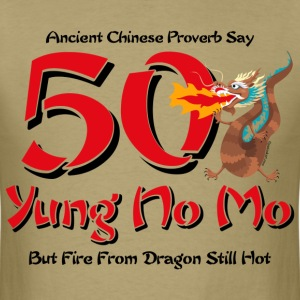Yung No More 50th Birthday T-Shirt - Men's T-Shirt