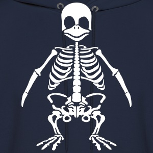 Penguin skeleton Hoodies - Men's Hoodie