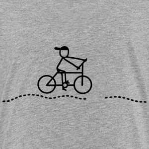 Cyclist - caution Kids' Shirts - Kids' Premium T-Shirt