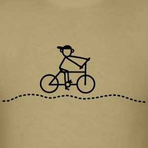Cyclists - Bicycle T-Shirts - Men's T-Shirt