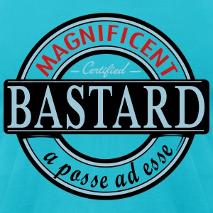 magnificent bastard T-Shirts - Men's T-Shirt by American Apparel