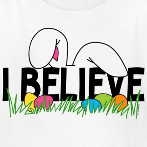 Believe In The Easter Bunny T-Shirt - Kids' T-Shirt