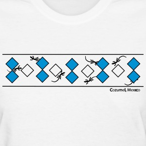 Lizards & Diamonds/Cozumel - Women's T-Shirt