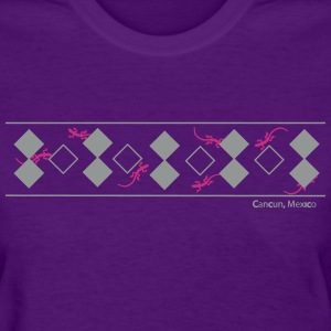 Lizards & Diamonds - Cancun - Women's T-Shirt