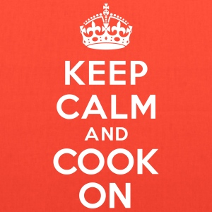 Keep calm and cook on  Bags & backpacks - Tote Bag