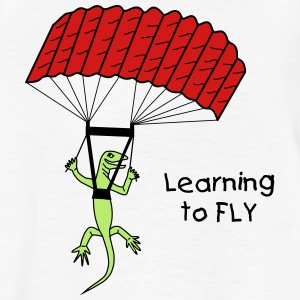 Learning to Fly - Kids' T-Shirt