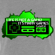 Design ~ Life is not a game - women