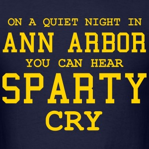 Quiet night in Ann Arbor T-Shirts - Men's T-Shirt