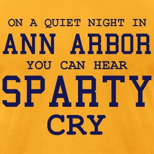 Quiet night in Ann Arbor T-Shirts - Men's T-Shirt by American Apparel